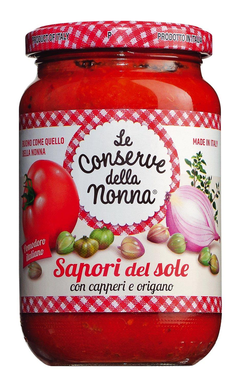 Tomatensauce mit Kapern & Oregano