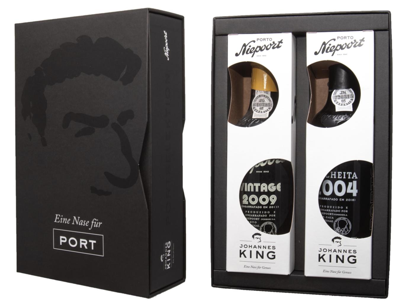 King & Niepoort  Portweinbox Liebhaber