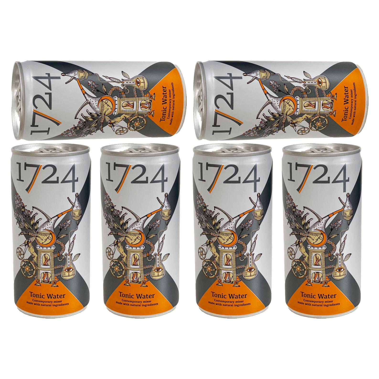 1724 Dry Tonic 6er Set Dosen