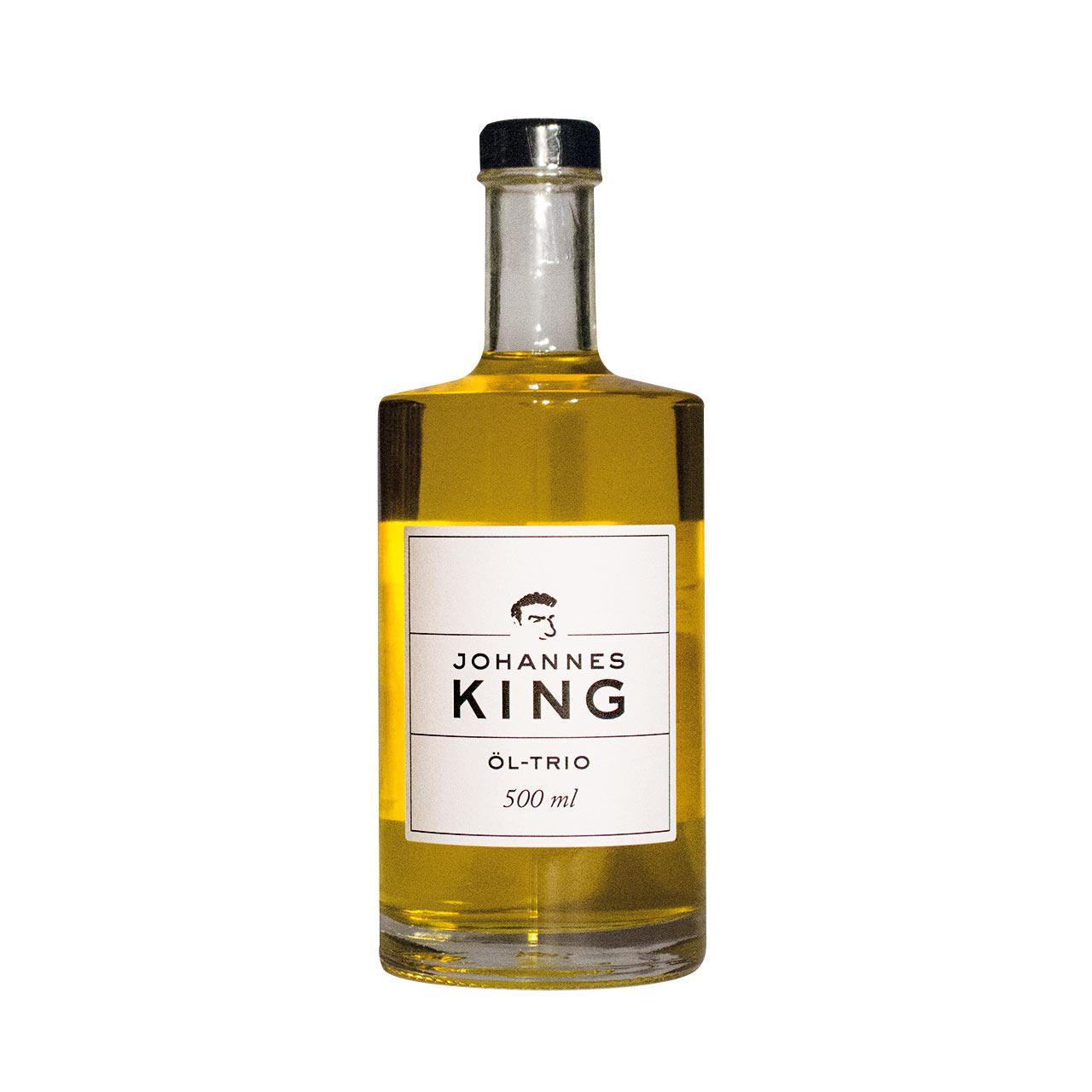 Kings Öl-Trio aus drei Speiseölen