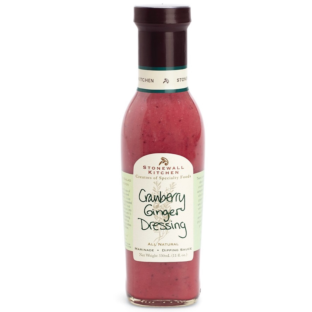 Stonewall Kitchen Cranberry Ginger Dressing