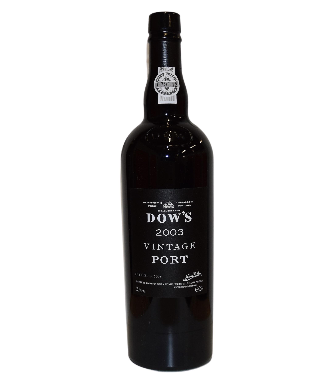 Dow's Vintage 2003