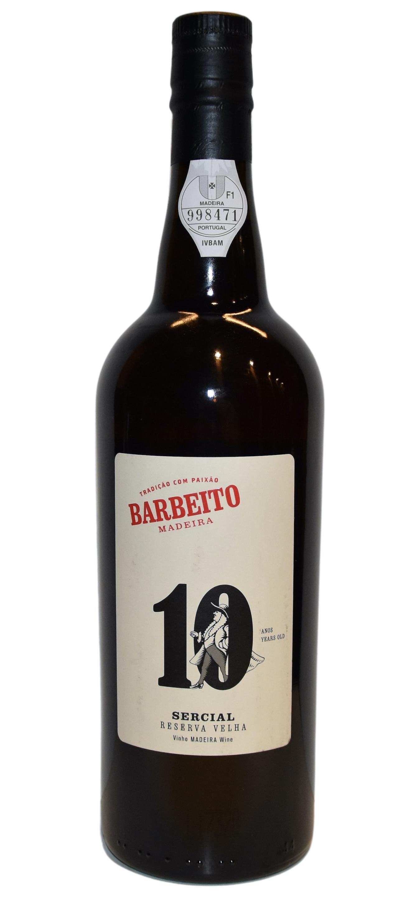 Madeira 10 Years Sercial Barbeito