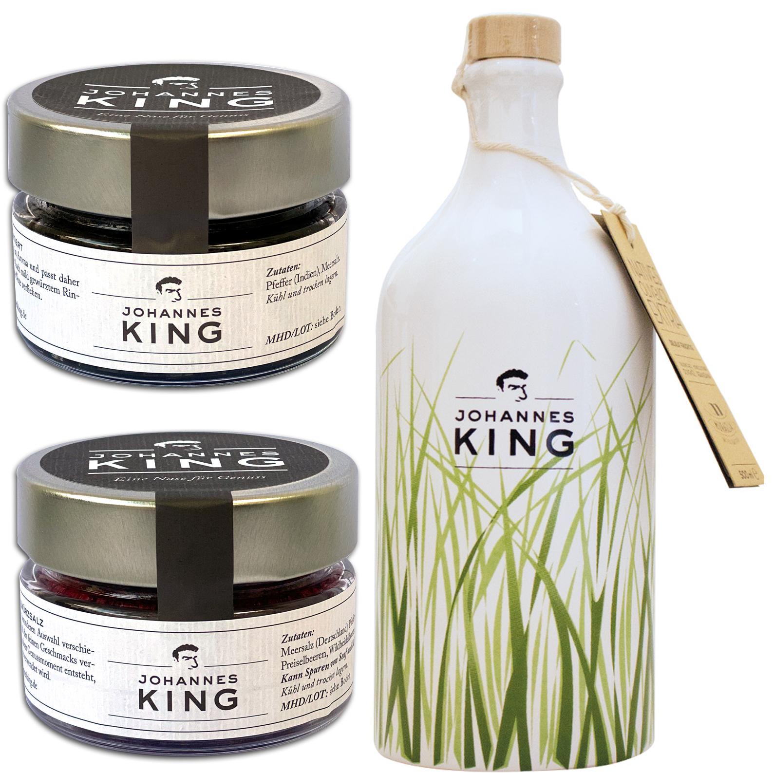 Kings Öl I Salz I Pfeffer Deluxe