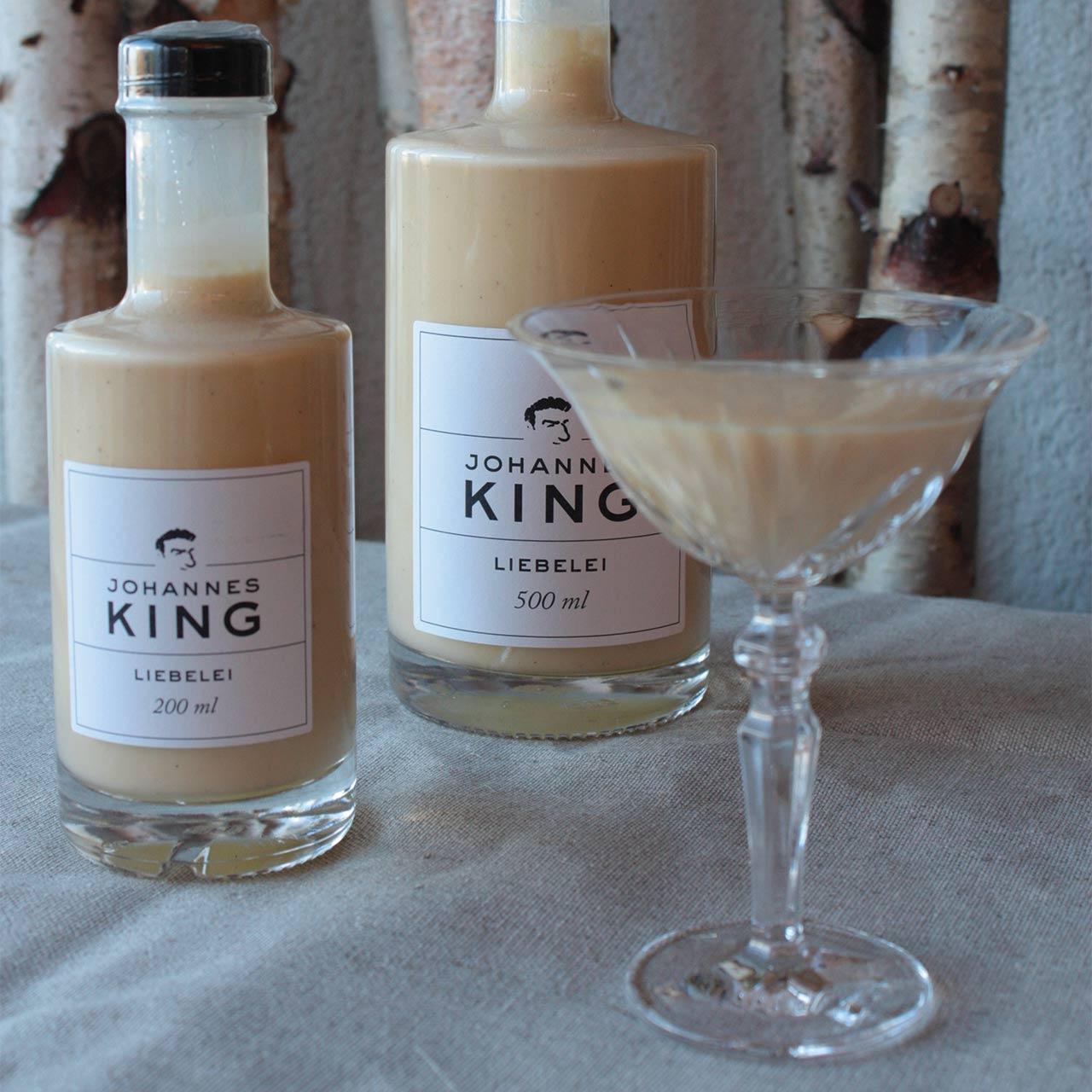 Kings Liebelei klein, mit 7 % Alkohol