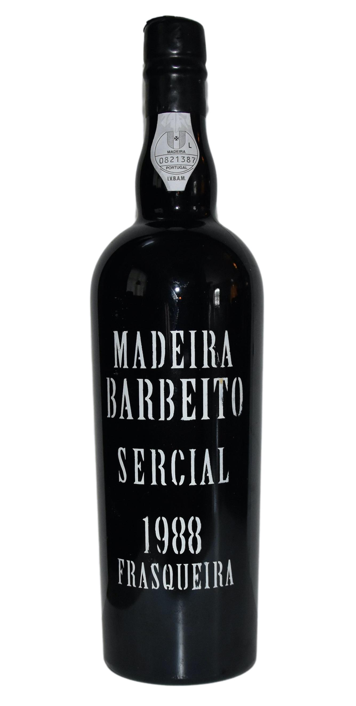 Madeira Sercial Barbeito 1988