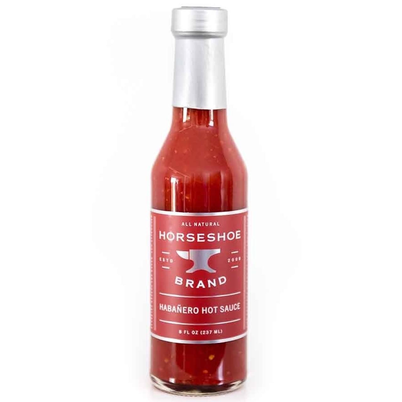 Horseshoe Brand Habanero Hot Sauce Grillsauce