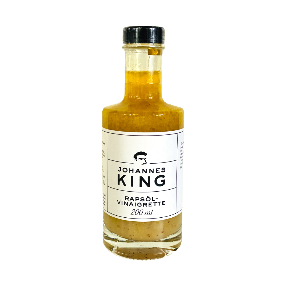 Kings Rapsöl-Vinaigrette 200 ml