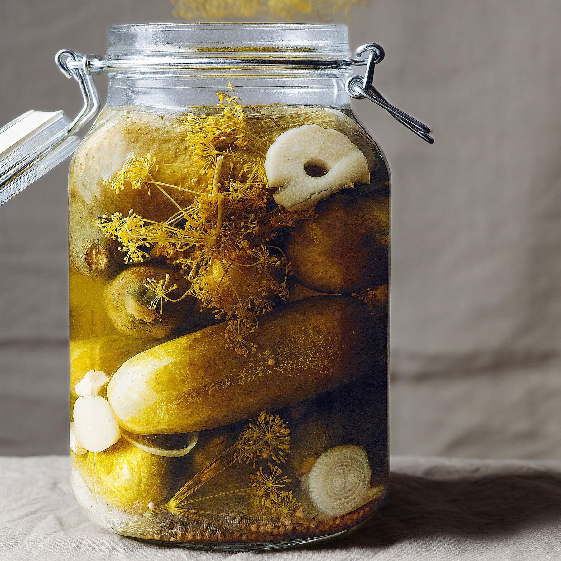 Eingelegte Gewürzgurken | Rezept | Johannes King