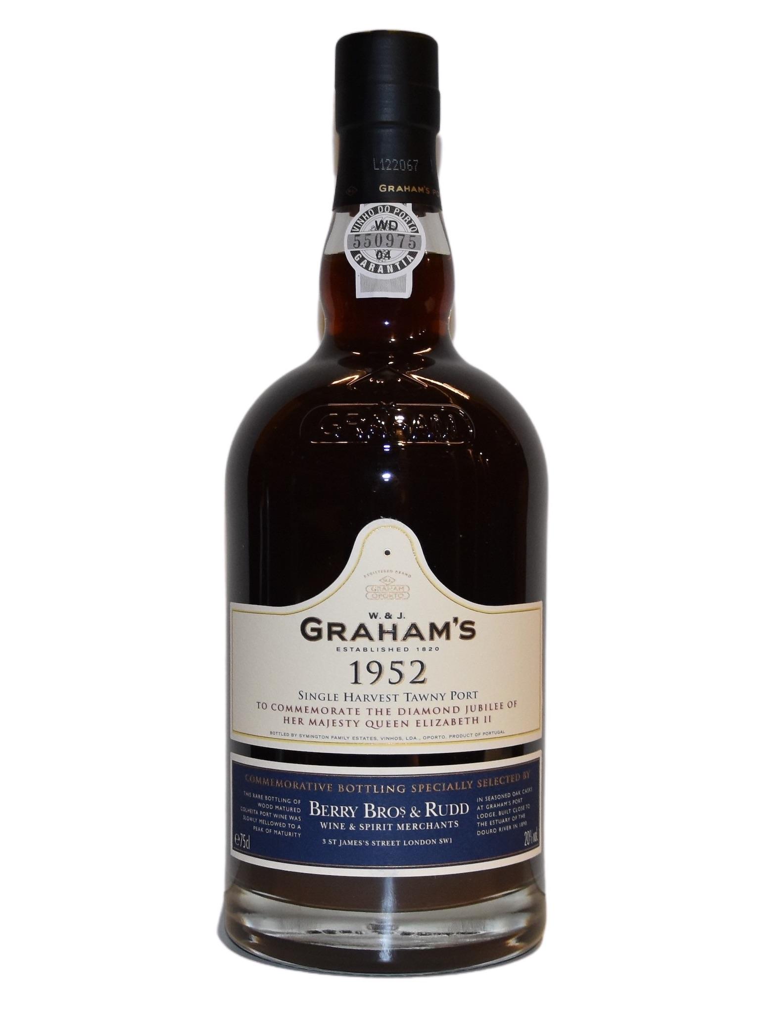 Graham's Colheita Port Queen 1952