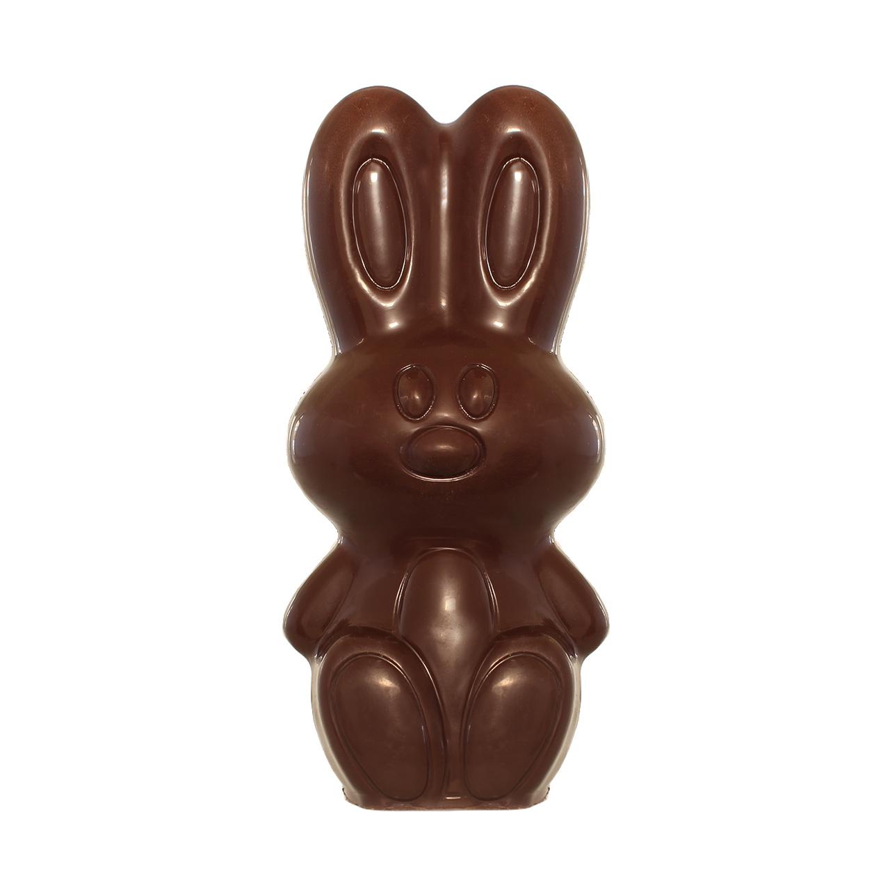 Kings Schokoladen-Osterhase, dunkle Schokolade