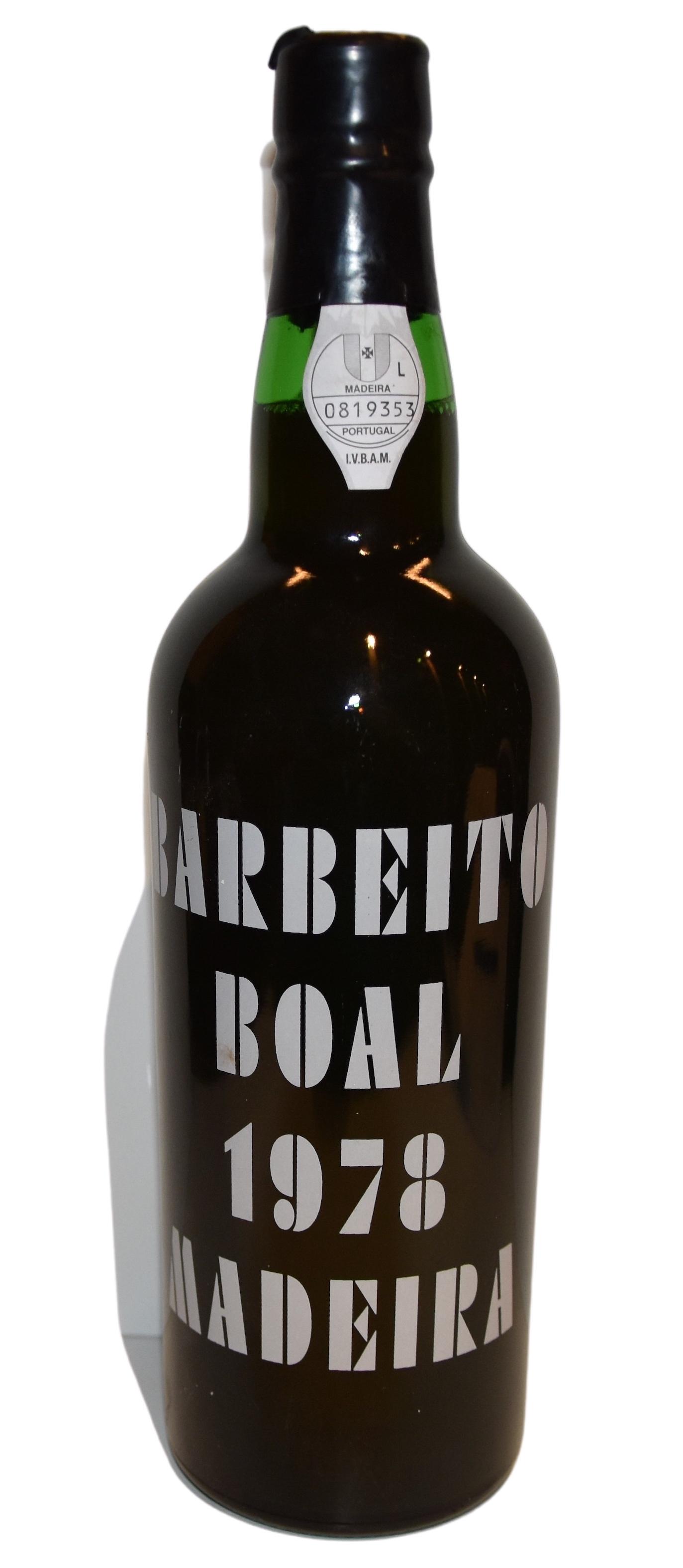 Madeira Boal Barbeito 1978