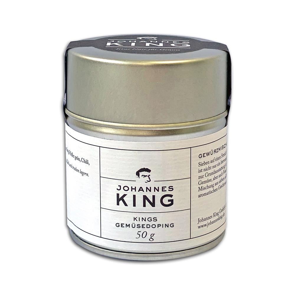 Kings Gemüse-Doping, Gewürzmischung