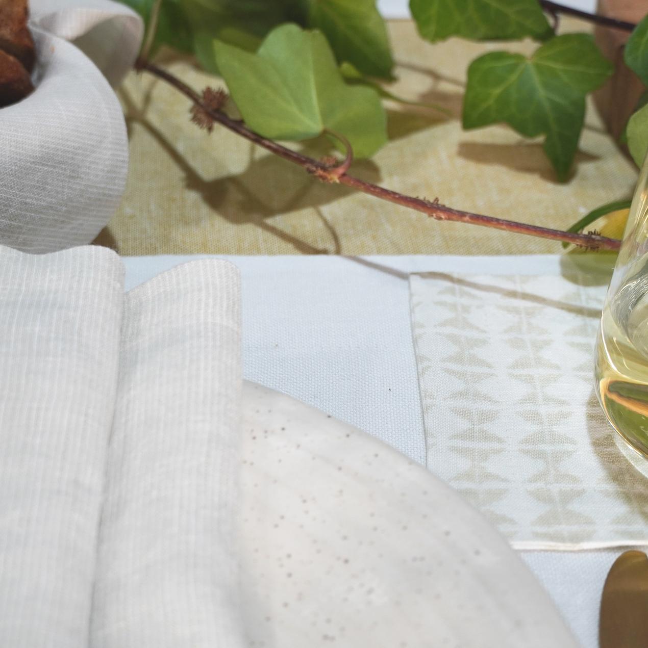 Dorothea Waydsch Leinenservietten-Set – beige